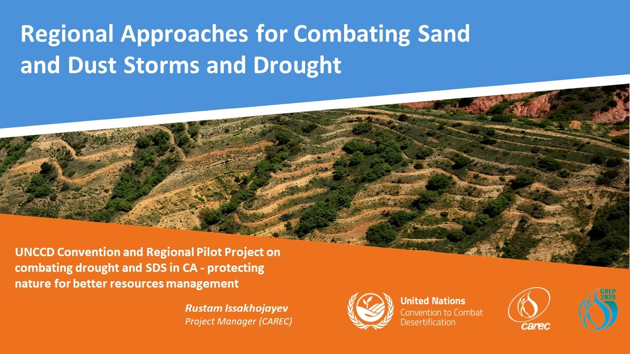 The issue of drought, and sand and dust storms were discussed at the 11th CAPL.