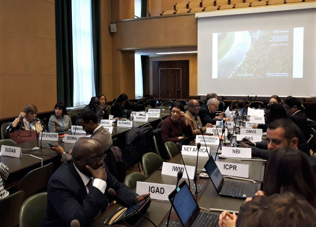 CAREC participates in global workshop on transboundary water cooperation