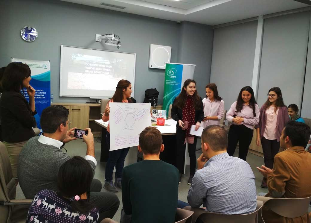 Youth and students participated in workshop on MakerSpace in Tashkent