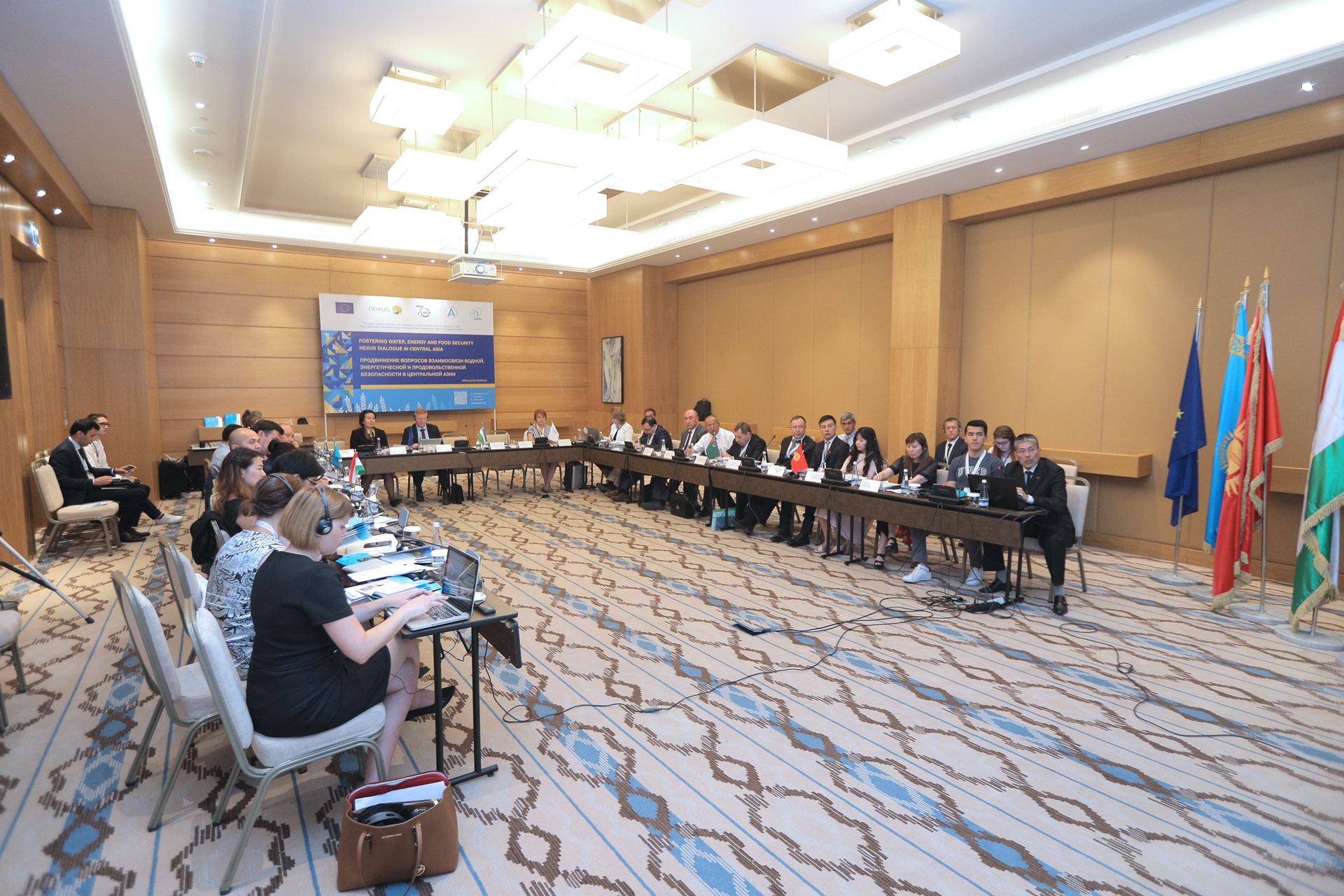 Investments to strengthen water, energy and food security in Central Asia were discussed at CAIEF 2018