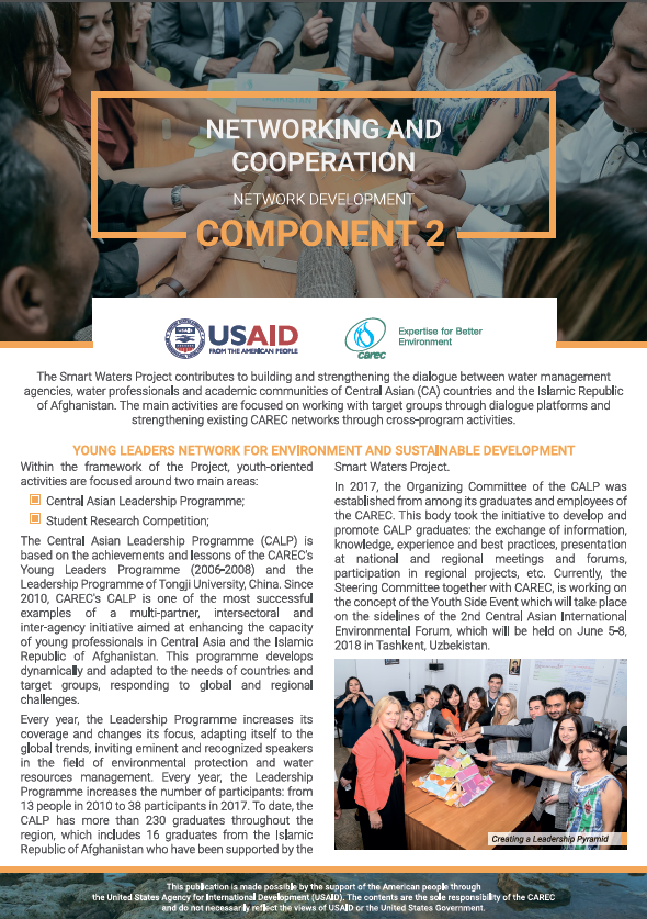 NETWORKING AND COOPERATION Network Development