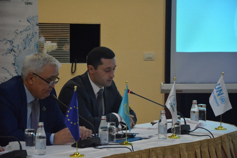 CAREC Executive Director met with national partners in the Republic of Kazakhstan