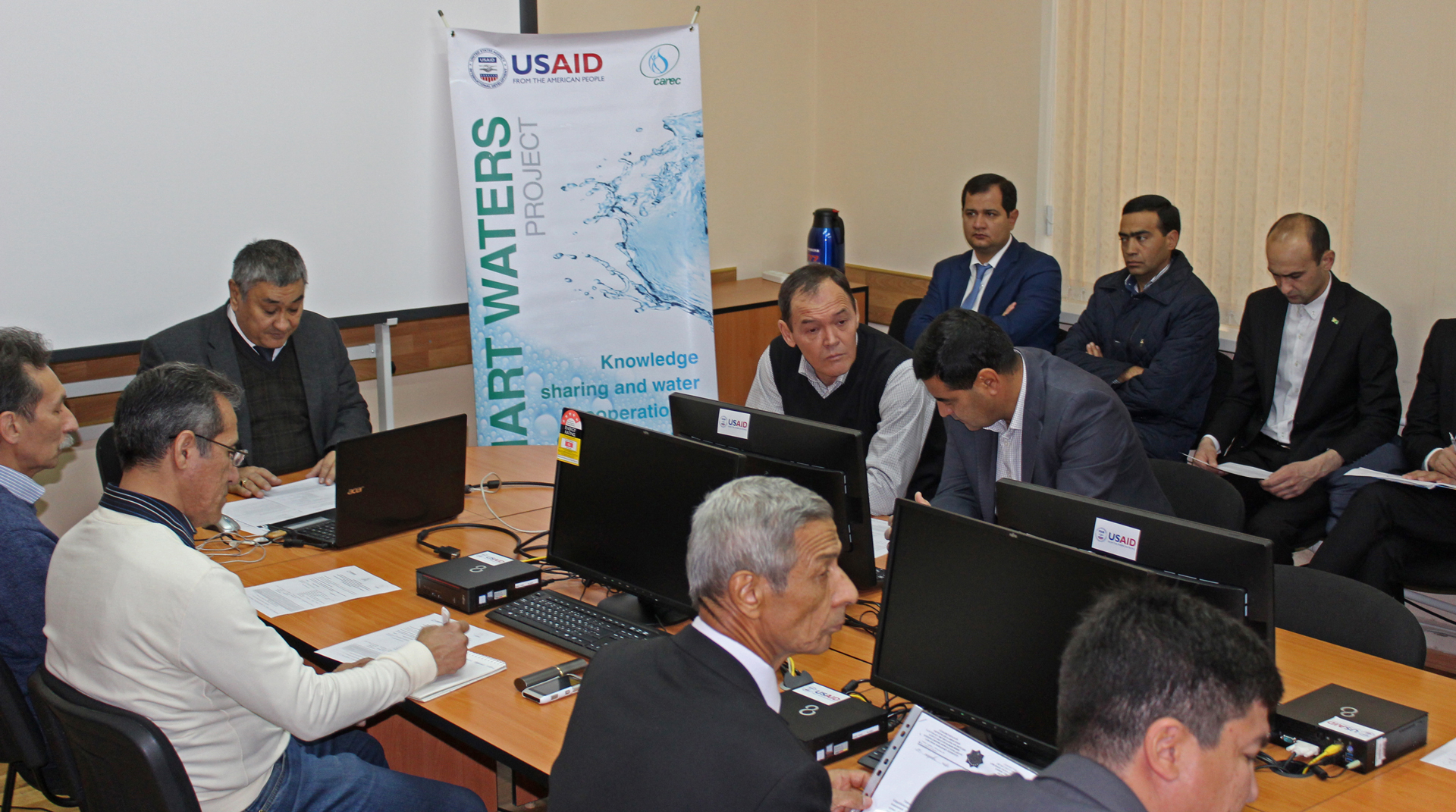 Central Asian water experts share experience: Smart Waters launched a series of webinars