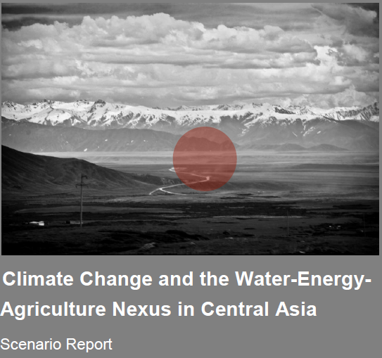 Climate change and water energy Agriculture Nexus in Central Asia