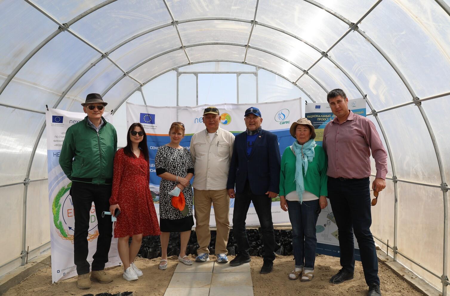Европейский Союз поддерживает усилия Казахстана по восстановлению экосистемы Аральского моря